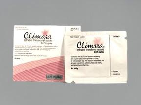 Climara 0.075 mg/24 hr transdermal patch
