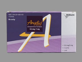 Angeliq 0.5 mg-1 mg tablet