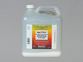 NuLYTELY with Flavor Packs 420 gram oral solution