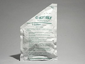 Golytely 227.1 gram-21.5 gram-6.36 gram oral powder packet