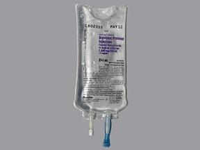 Brevibloc 2,500 mg/250 mL (10 mg/mL) in sodium chloride (iso-osm) IV
