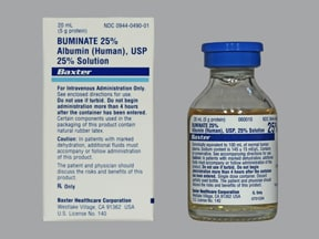 Buminate 25 % intravenous solution
