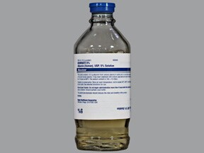 Buminate 5 % intravenous solution