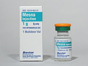 mesna 100 mg/mL intravenous solution