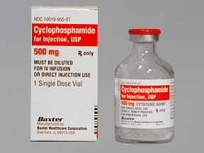 cyclophosphamide 500 mg intravenous solution