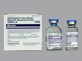 Hemofil M Super High 1,501 unit-2,000 unit intravenous solution