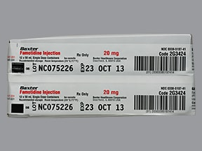 famotidine (PF) 20 mg/50 mL in 0.9 % NaCl (iso) intravenous piggyback