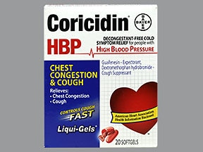 Coricidin HBP 10 mg-200 mg capsule