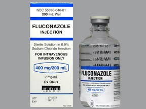 fluconazole 400 mg/200 mL in sod. chloride(iso) intravenous piggyback