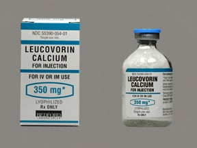 leucovorin calcium 350 mg solution for injection