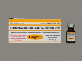 terbutaline 1 mg/mL subcutaneous solution