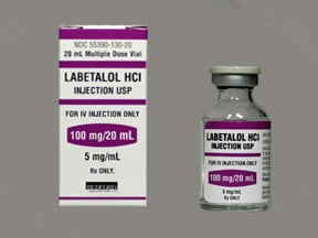 labetalol 5 mg/mL intravenous solution