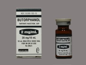 butorphanol tartrate 2 mg/mL injection solution