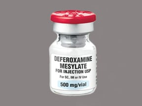 deferoxamine 500 mg solution for injection