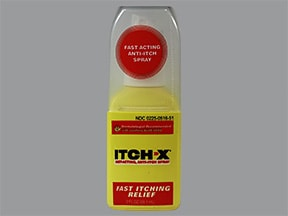 ITCH-X 1 %-10 % topical spray