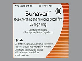 Bunavail Buccal : Uses, Side Effects, Interactions, Pictures