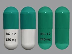 Tecfidera 120 mg (14)-240 mg (46) capsule,delayed release
