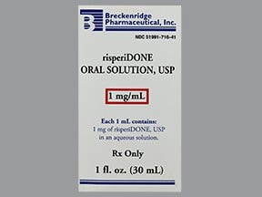 risperidone 1 mg/mL oral solution