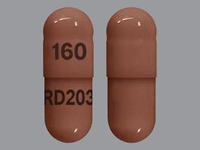 propranolol ER 160 mg capsule,24 hr,extended release