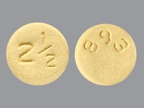 Eliquis 2.5 mg tablet