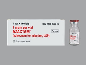 Azactam 1 gram solution for injection