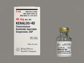Kenalog 40 mg/mL suspension for injection