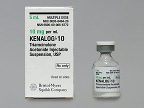 Kenalog 10 mg/mL suspension for injection