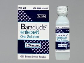 Baraclude 0.05 mg/mL oral solution