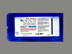 Orencia (with maltose) 250 mg intravenous solution