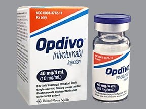 Opdivo 40 mg/4 mL intravenous solution
