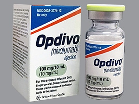 Opdivo 100 mg/10 mL intravenous solution