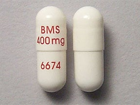 Videx EC 400 mg capsule,delayed release