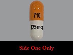 dofetilide 125 mcg capsule
