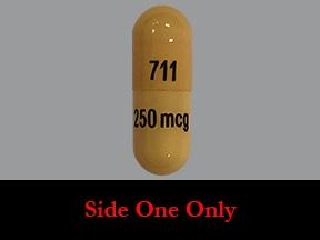 dofetilide 250 mcg capsule