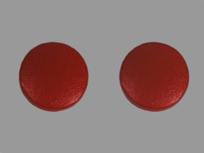 ferrous sulfate 325 mg (65 mg iron) tablet