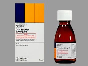 Aptivus 100 mg/mL oral solution