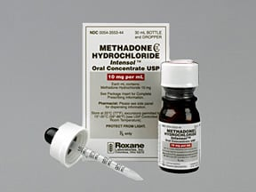 Methadone Intensol 10 mg/mL oral concentrate