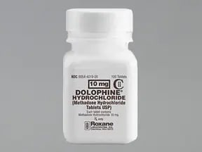Dolophine 10 mg tablet