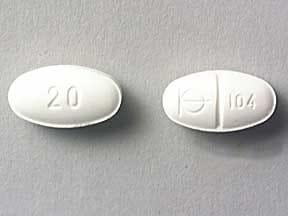 Demadex 20 mg tablet