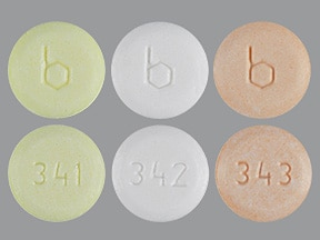 Aranelle (28) 0.5 mg/1 mg/0.5 mg-35 mcg tablet
