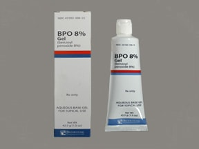 BPO 8 % topical gel