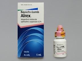 Alrex 0.2 % eye drops,suspension