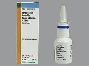Ipratropium Bromide Nasal Spray Cost