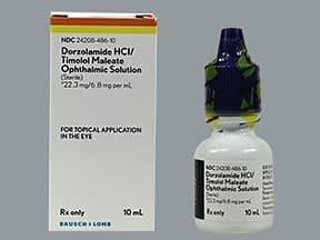 dorzolamide 22.3 mg-timolol 6.8 mg/mL eye drops