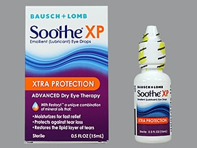 Soothe Xp Ophthalmic Eye Uses Side Effects
