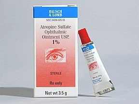 atropine 1 % eye ointment