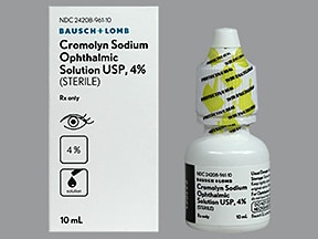 cromolyn 4 % eye drops