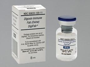 DigiFab 40 mg intravenous solution