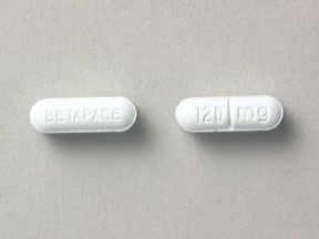 Betapace 120 mg tablet