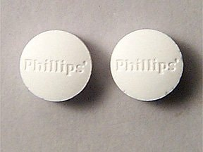 Phillips Milk of Magnesia 311 mg chewable tablet